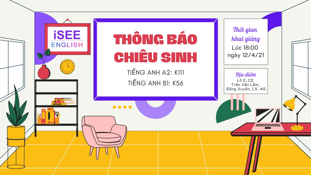 Khóa luyện thi Chứng chỉ Tiếng Anh #A2 - #B1