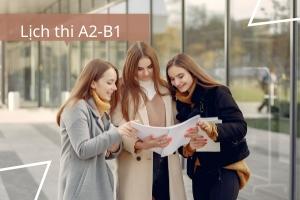 Lịch thi A2-B1